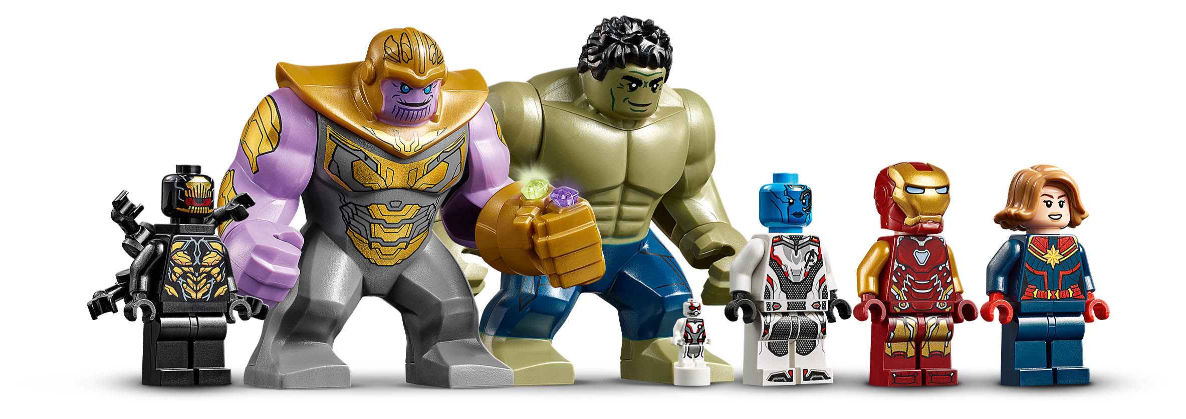 Avengers HQ Minifigure Lineup