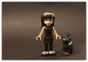 custom lego goth emily the strange