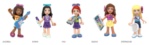 lego friends characters