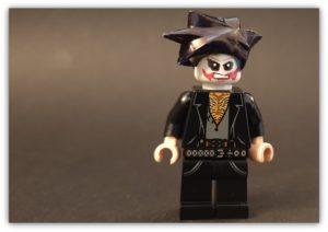 custom lego goth minifigure