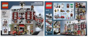 lego fire stations: fire brigade