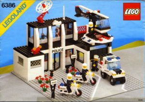lego police command base