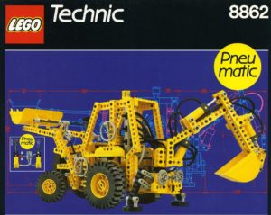 Best LEGO Technic Sets: Bachoe Grader