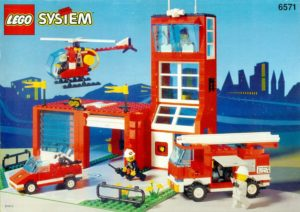 lego fire stations: flame fighters