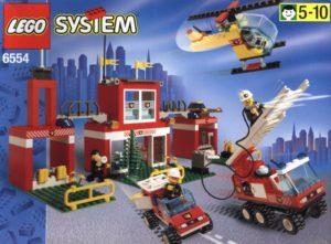 lego fire stations: blaze brigade