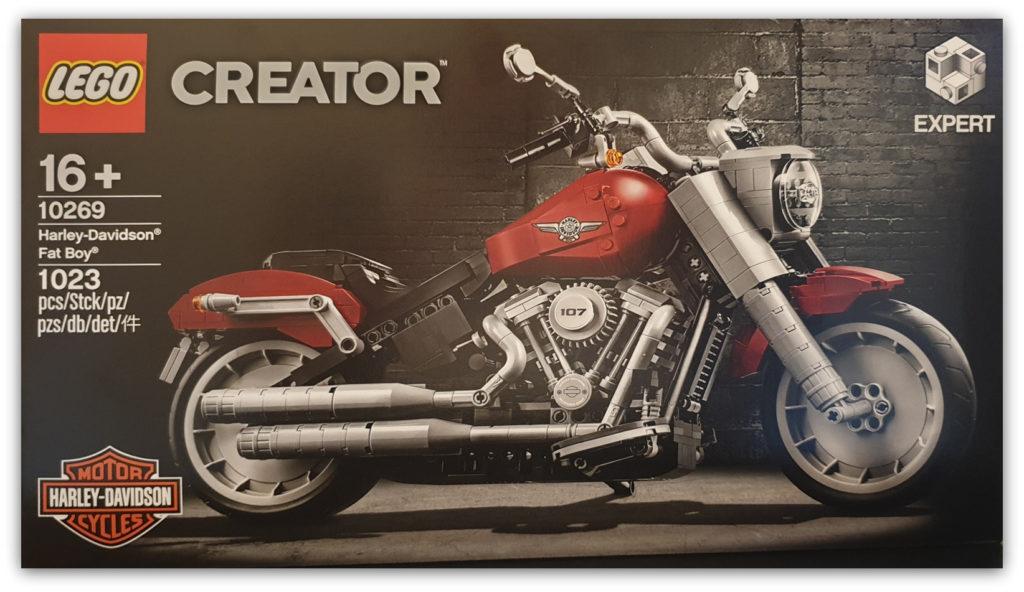 LEGO and Harley Davidson Fat Boy