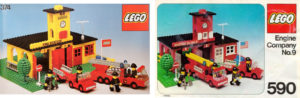 lego fire stations: first sets