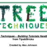 LEGO Tips & Bricks, Part 2: Tree Techniques Handbook Review