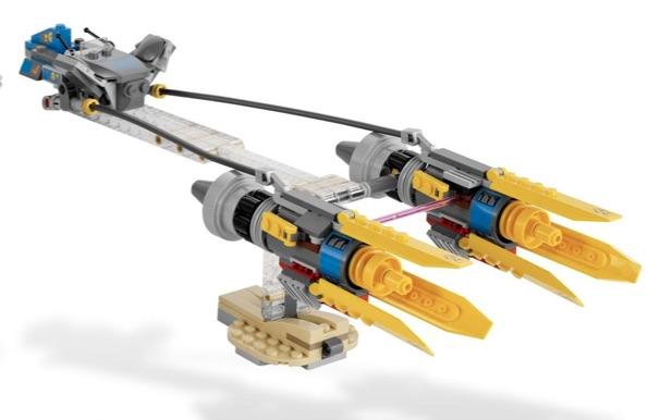 old LEGO podracer