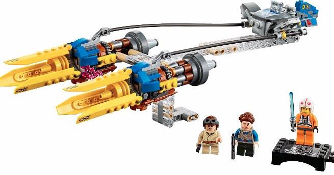 new LEGO podracer