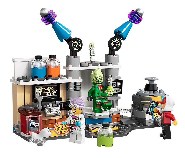lego hidden side ghost lab