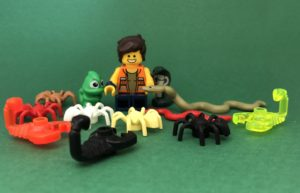 Writing LEGO: Possibility to touch critters
