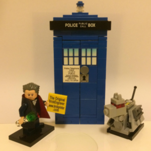 lego custom builds tardis and doctor who