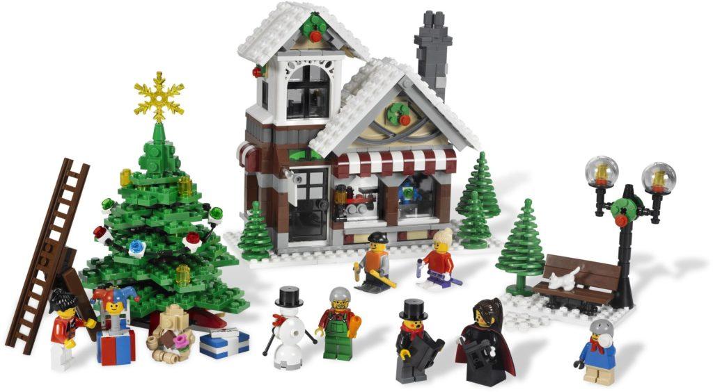 lego christmas toy shop