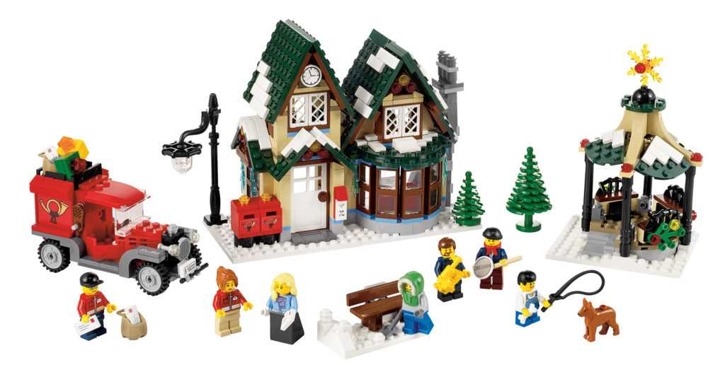 lego christmas post office