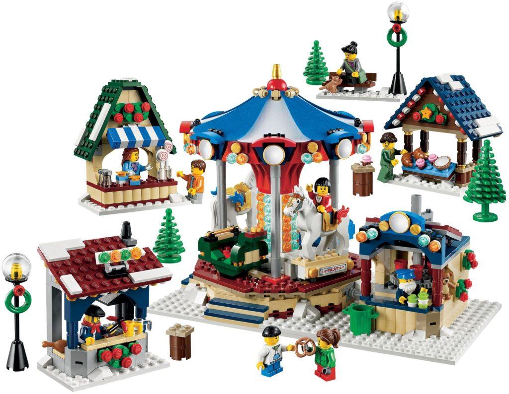 lego christmas market