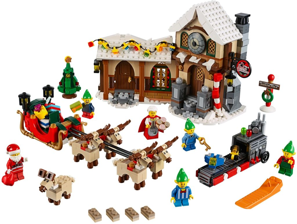 lego sets to invest in: santa's workshop