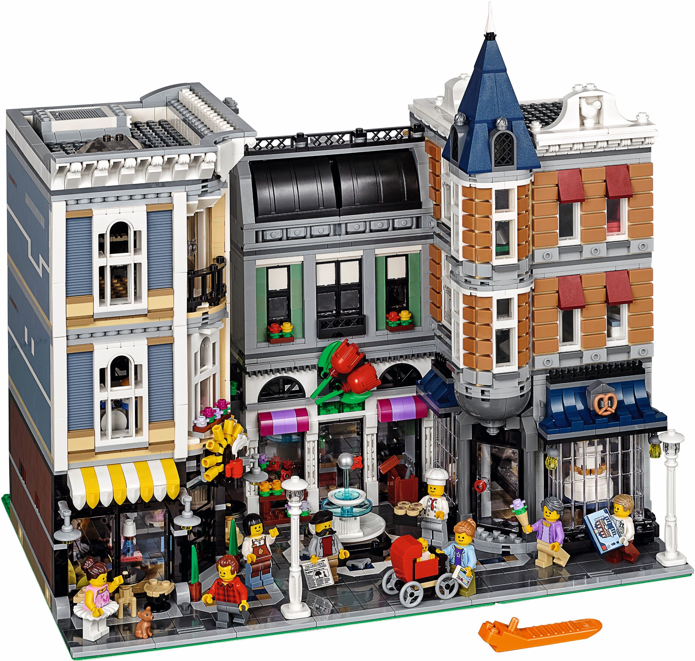 lego modular buildings assembly square