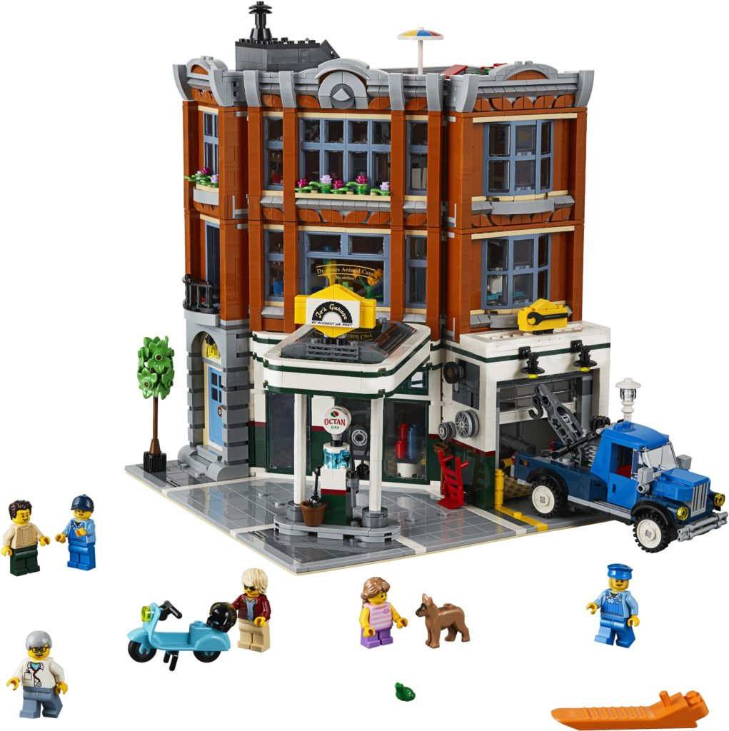 lego modular buildings corner garage