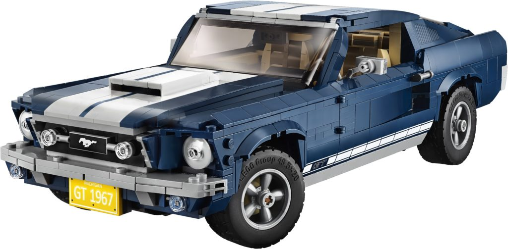 lego sets to invest in: ford mustang