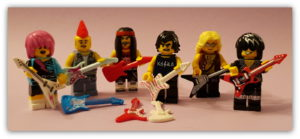 LEGO Musical Instruments: Minifigures Making Sweet Music