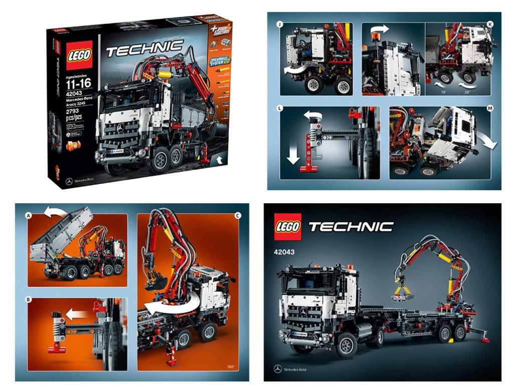 lego technic big truck 42043