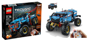 Evolution of the Brick: LEGO Technic Big Truck Sets