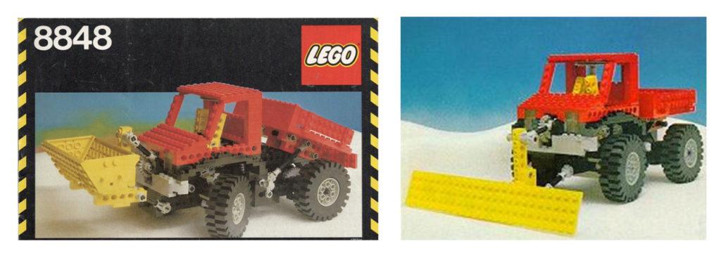 lego technic big truck 8848
