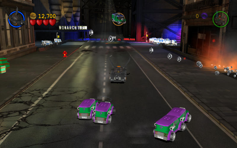 lego batman: the videogame vehicle based level