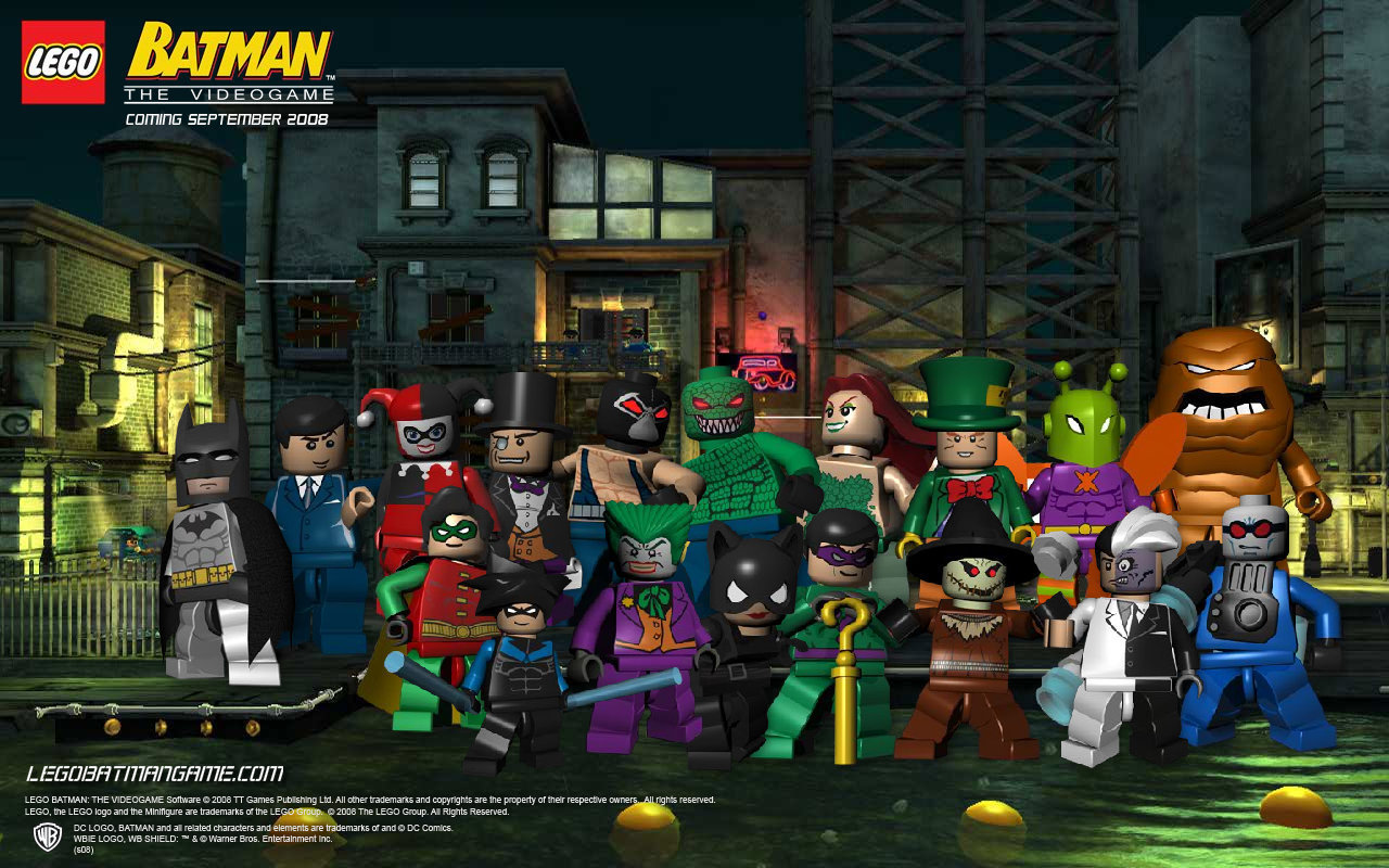 lego batman: the videogame characters