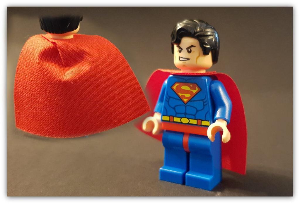 lego superhero cape