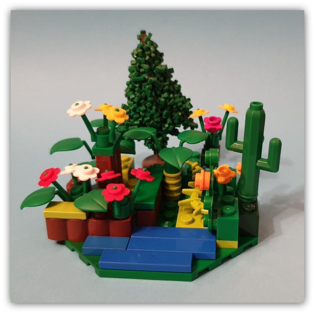build yourself happy: a small garden