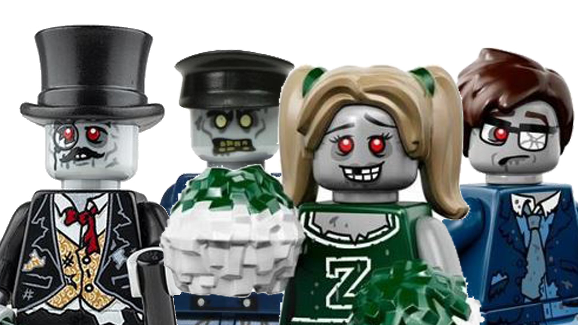 LEGO Zombie - Group of LEGO Zombies