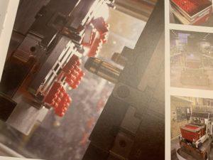 making LEGO