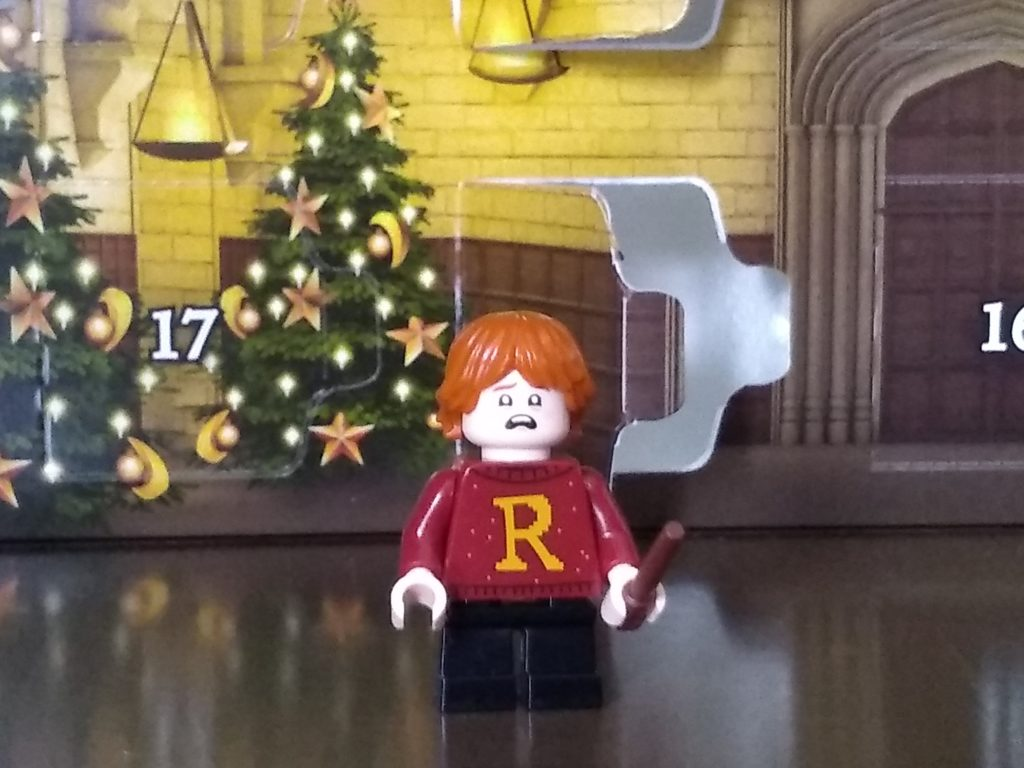 harry potter advent calendar ron