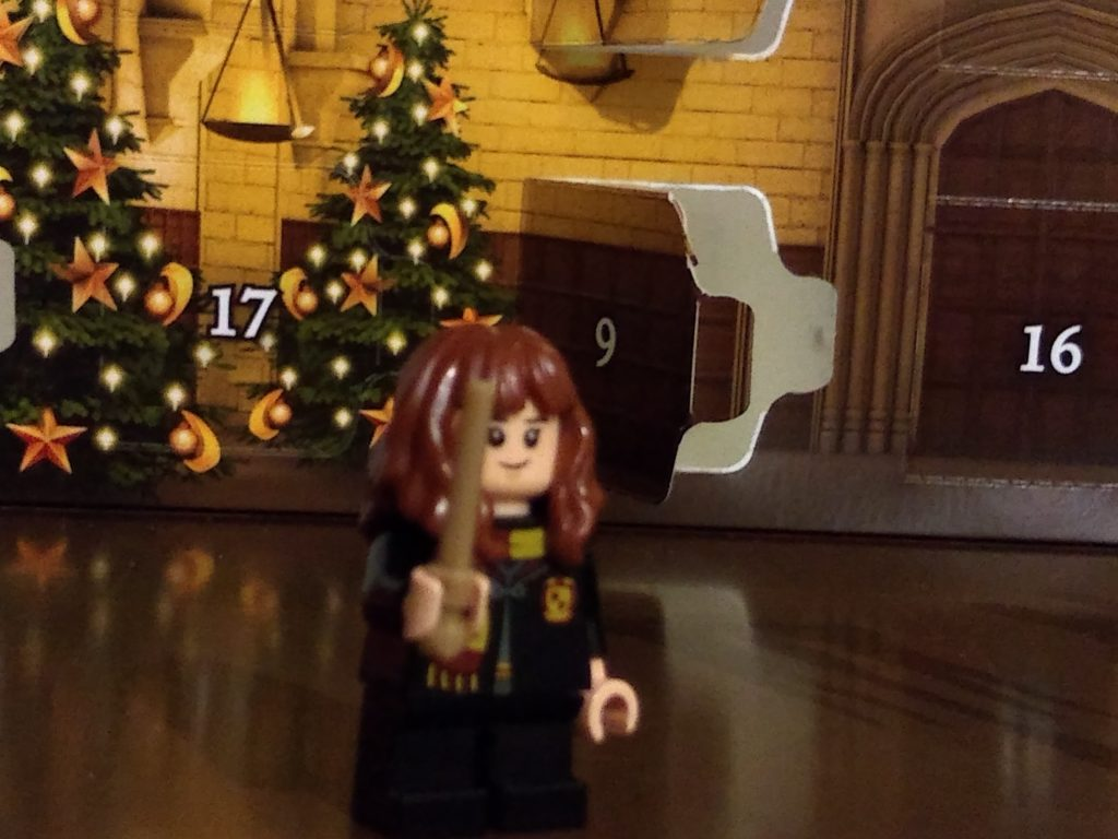 harry potter advent calendar hermione