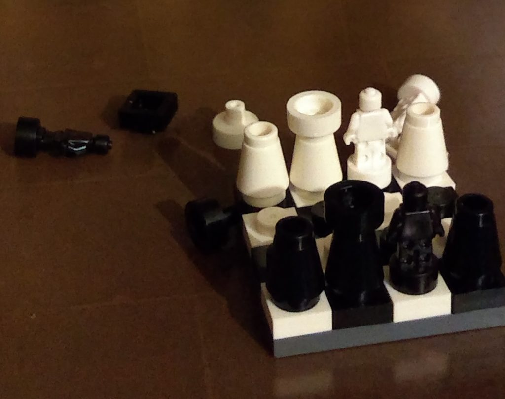 harry potter advent calendar chess set