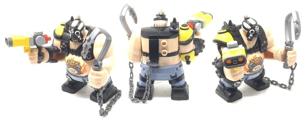 junkrat and roadhog: roadhog figure
