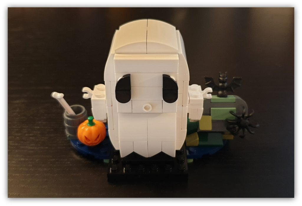 how do you build your LEGO: end product