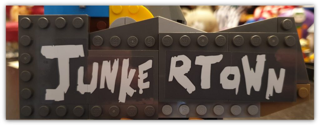 how do you build your LEGO: dreaded stickers