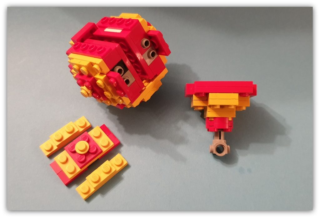 lego displays lowell sphere