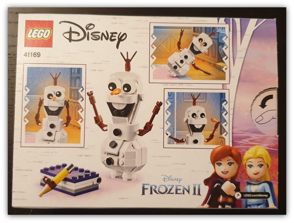 frozen 2 buildable olaf set box