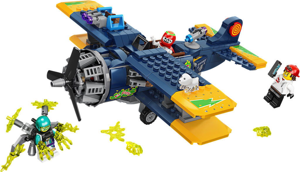 new lego hidden side el fuego's airplane