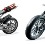 Evolution of the Brick: LEGO Technic Motorcycles