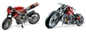 Evolution of the Brick: LEGO Technic Motorcycles