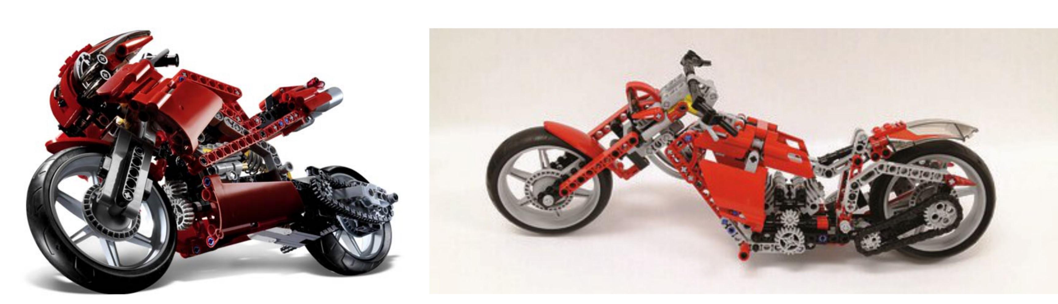 LEGO Technic Motorcycles street bike