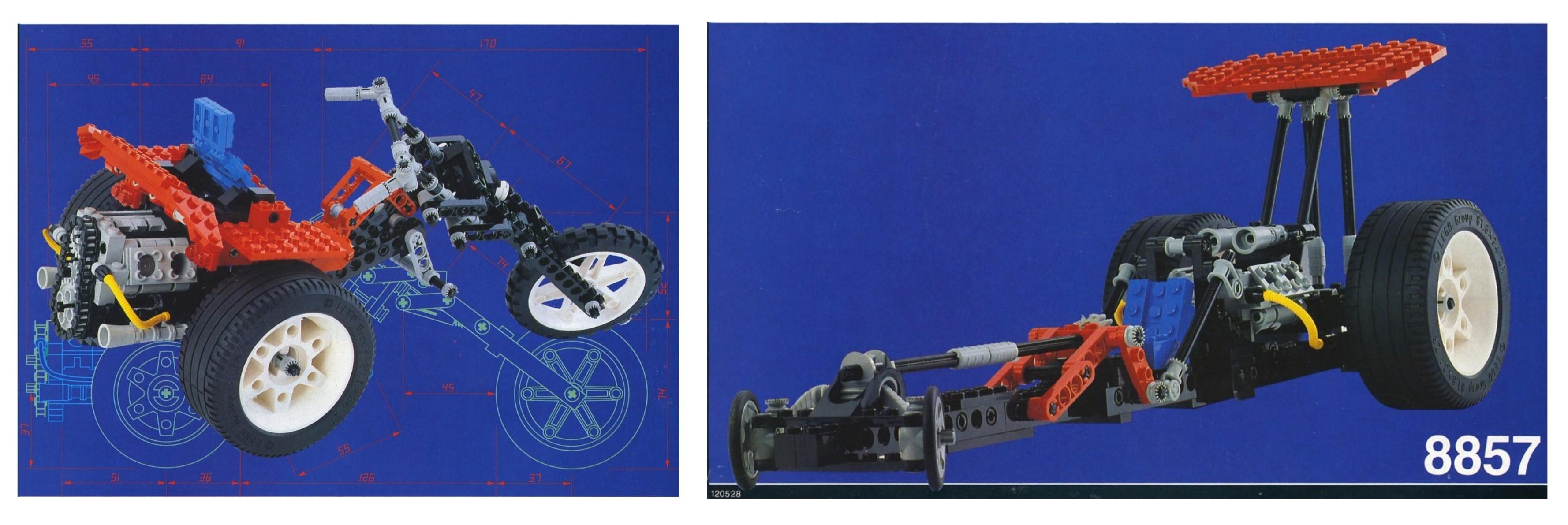 LEGO Technic Motorcycles street chopper