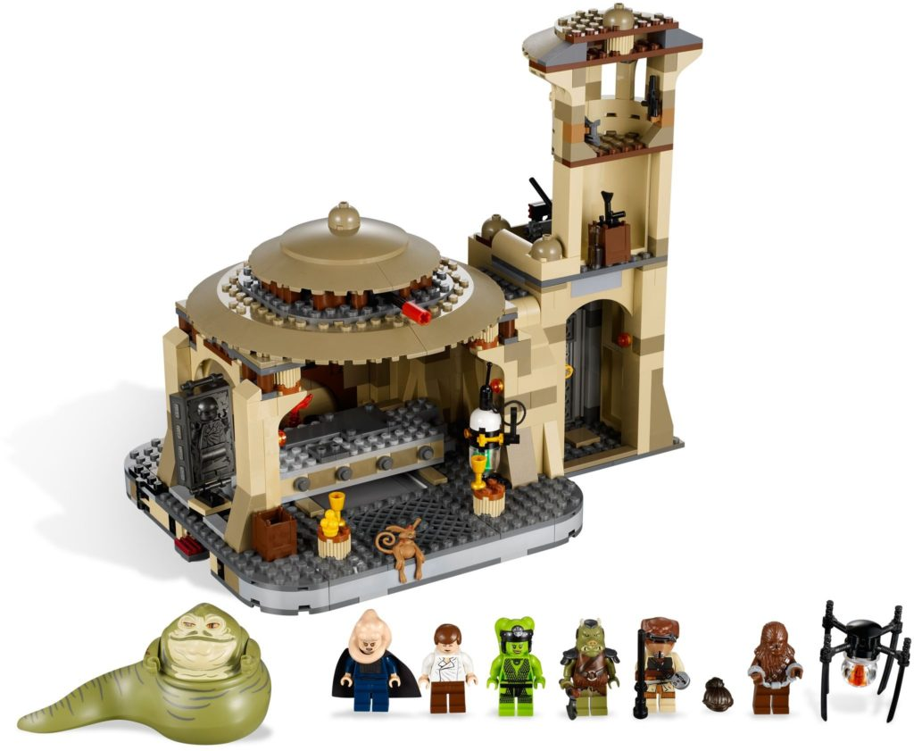 best lego star wars sets jabba's palace