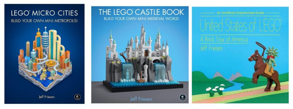 lego christmas gift books
