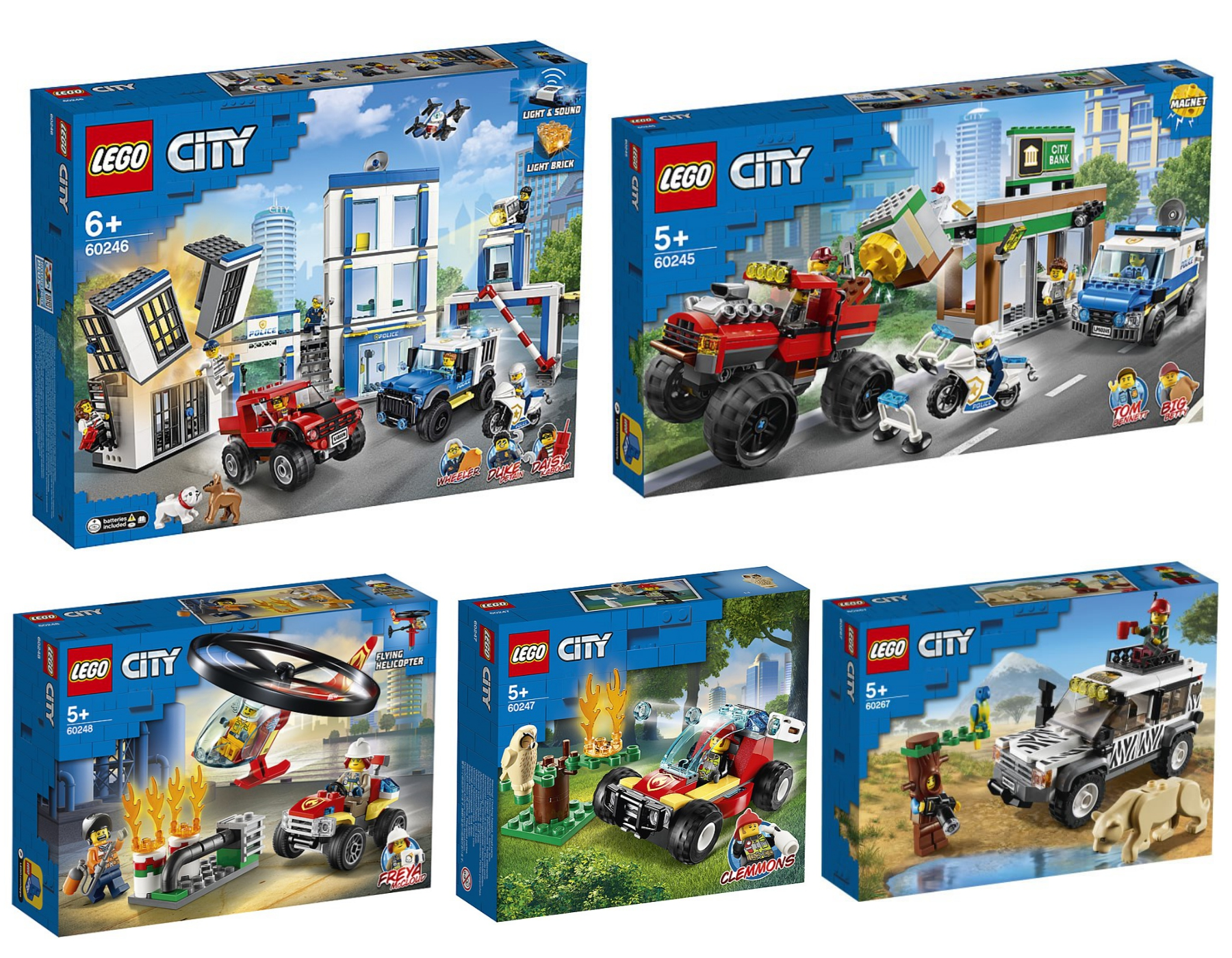2020 lego sets city